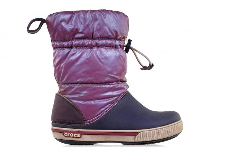 Сапоги б/у Crocs Crocband Iri Gust Boot 23UC для девочек
