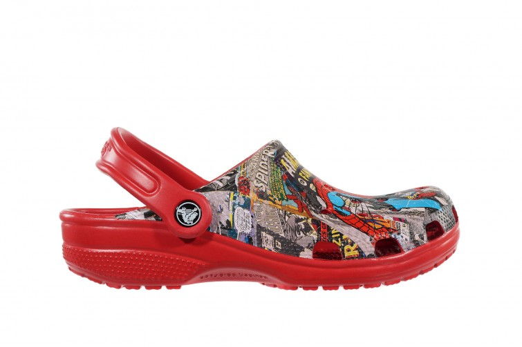Сабо Crocs Classic Spiderman Clog (1-NC) Красные
