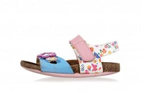 Gold Star girls sandals