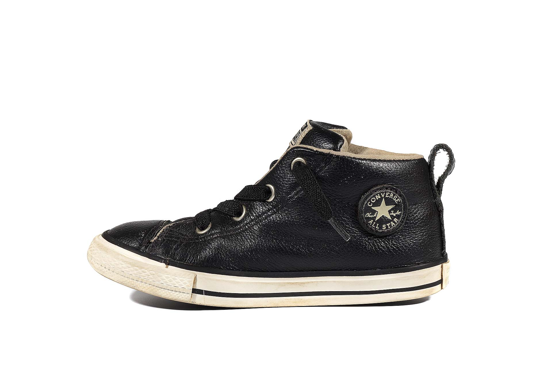 lowest price c8486 c0f1d Converse kids Chuck Taylor All Star Street Mid Leather 732516 (00003-U)  sneakers used buy online shop vintageshoes.ru