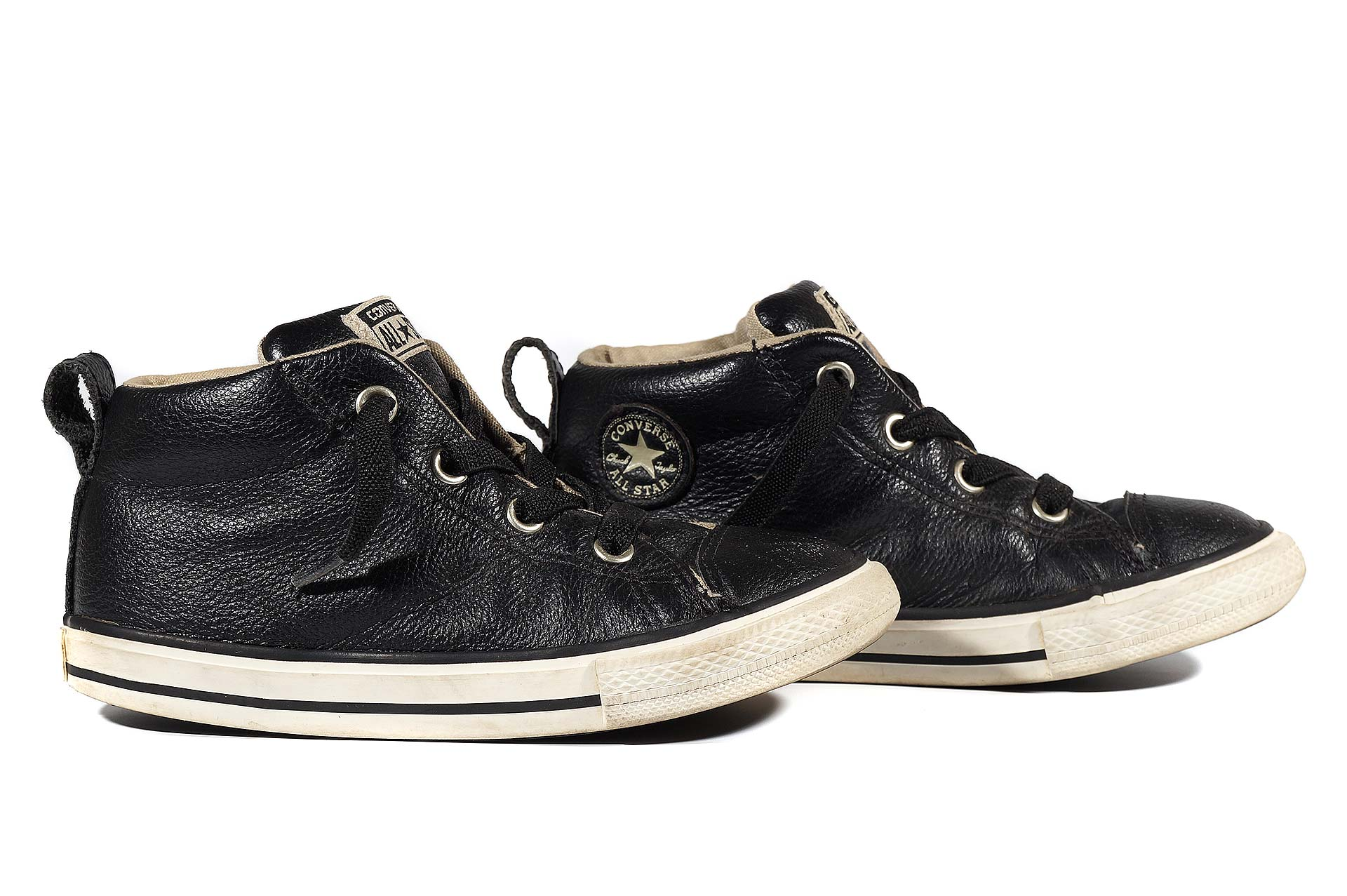0e062a69442588 Converse kids Chuck Taylor All Star Street Mid Leather 732516 (00003 ...