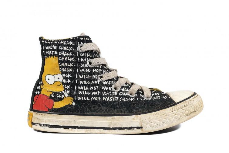 Детские кеды Converse The Simpsons Chuck Taylor All Star 641390 (00005-U)