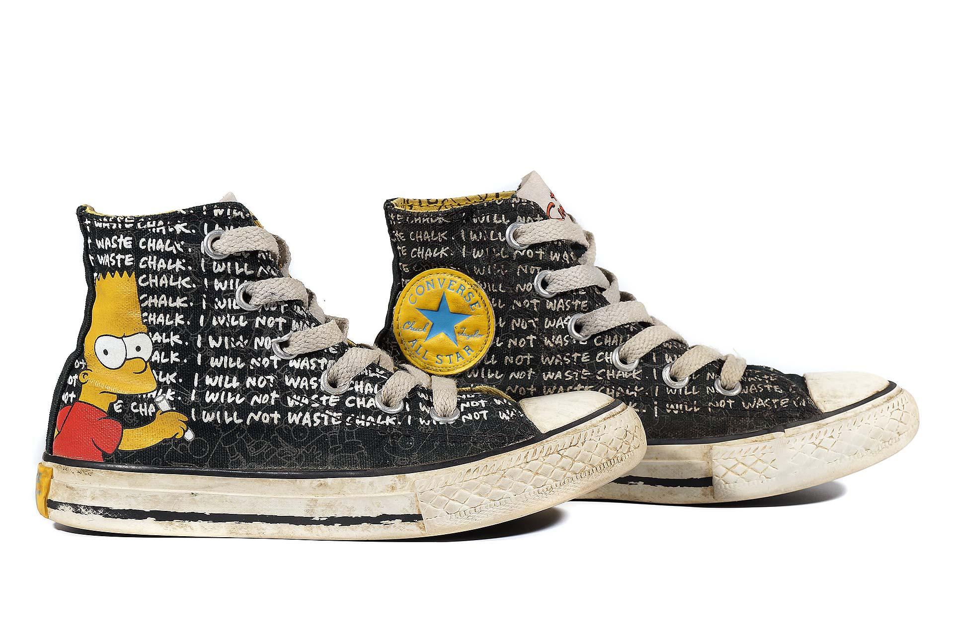 Converse kids Simpsons Chuck Taylor All Star 641390 (00005-U)