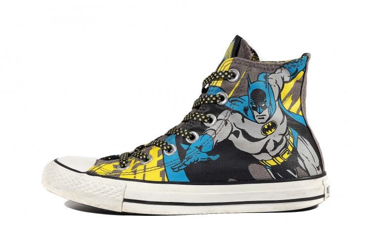 Кеды Converse Chuck Taylor All Star DC Comics Batman 127215 (00015-U)