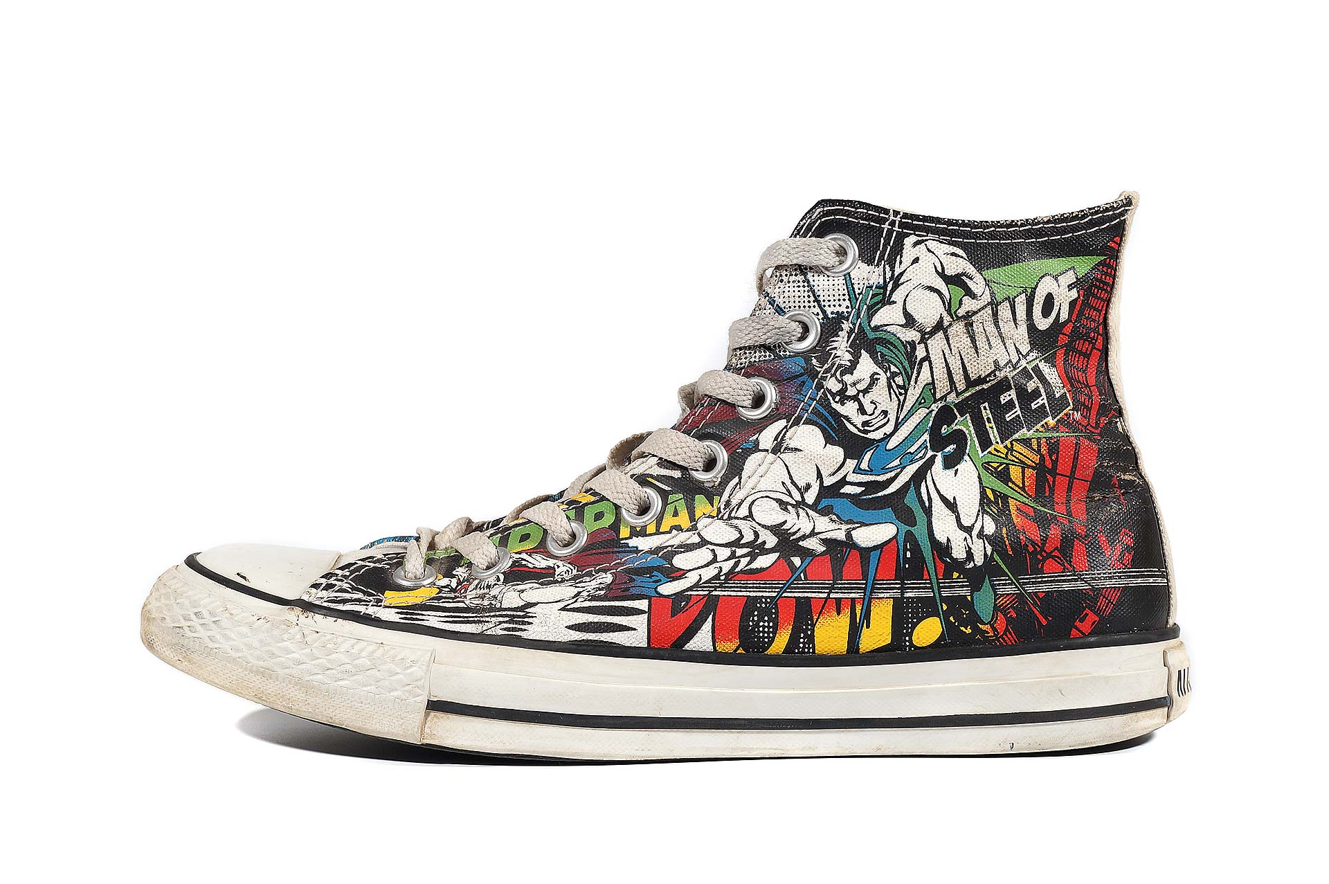 ac36e23529d9 Converse Chuck Taylor All Star DC Comics Superman 120822 (00017-U) sneakers  used buy online shop vintageshoes.ru