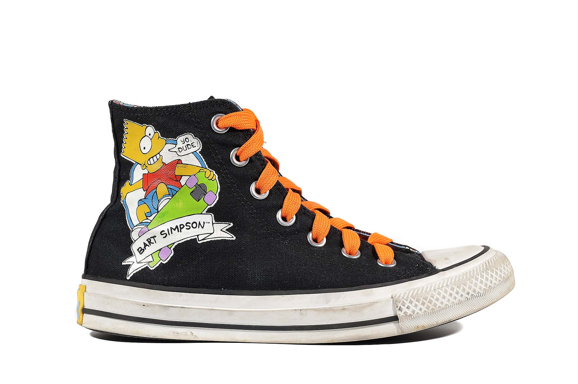 7d07afe56a36fb Converse The Simpsons Chuck Taylor All Star 146810 (00038-U) sneakers used  buy online shop vintageshoes.ru