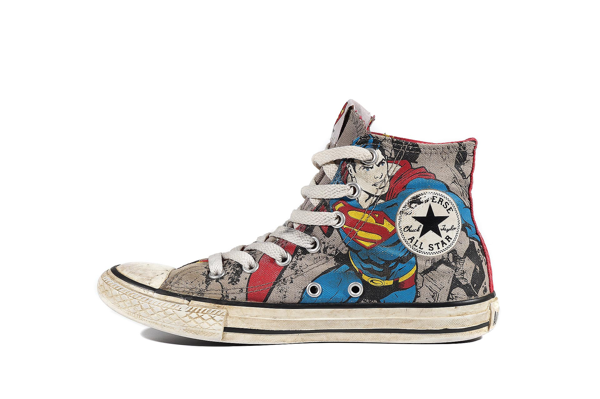 e136bf78ebe9 Converse kids Chuck Taylor All Star DC Comics Superman 335286 (00094-U)  sneakers used buy online shop vintageshoes.ru