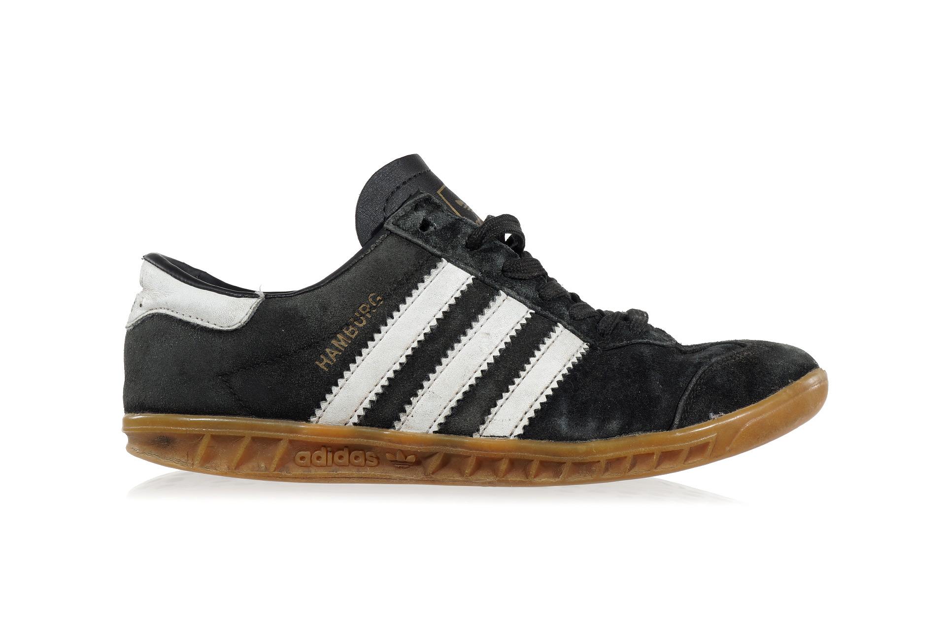 big sale 24c59 619be Adidas Hamburg sneaker boys well worn 12WWS